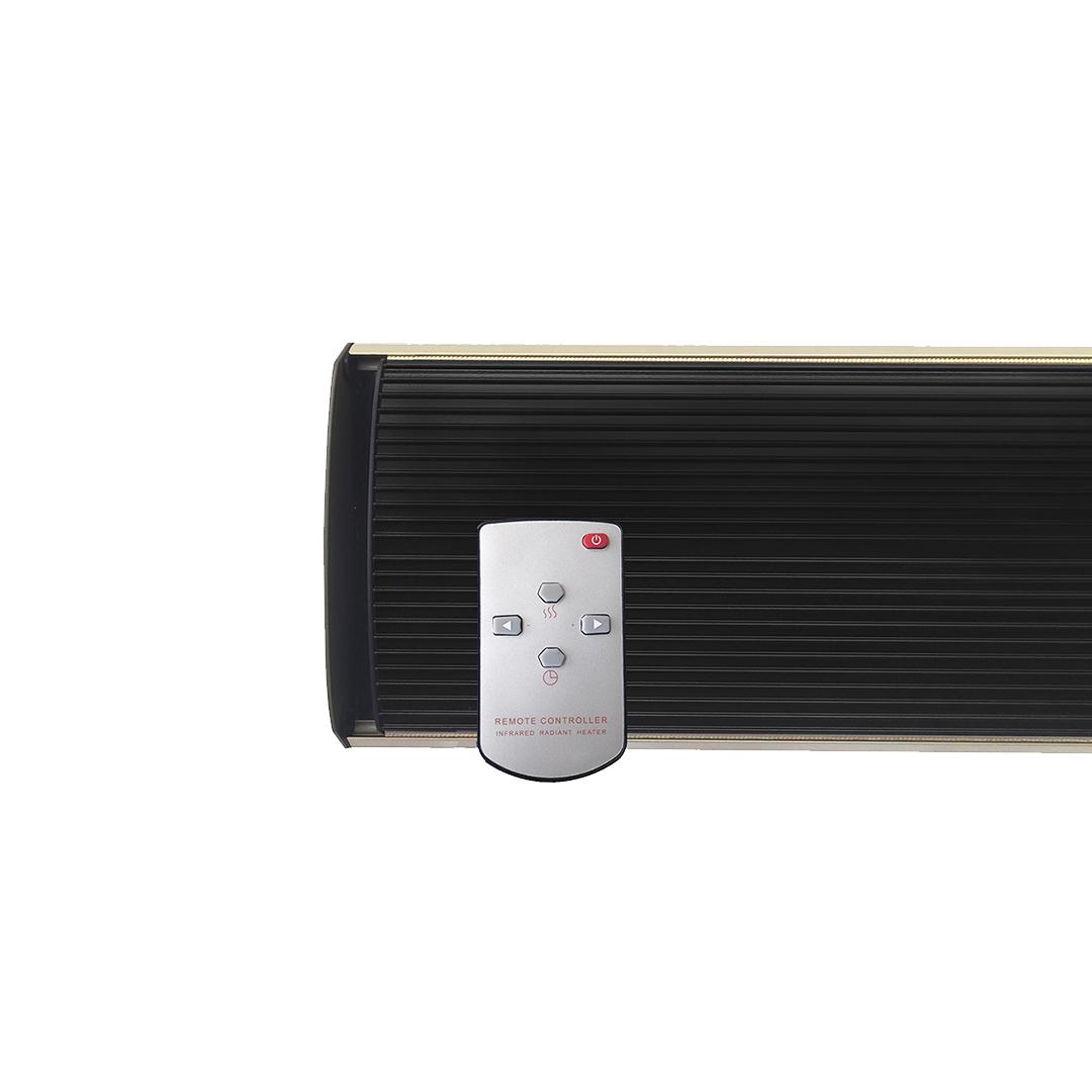 calefactor infrarrojo HHPC1800R mando a distancia